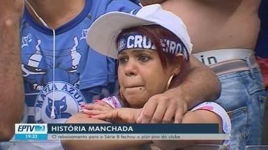 Cruzeiro perde para o Palmeiras e é rebaixado para a Série B do Brasileirão - Cruzeiro perde para o Palmeiras e é rebaixado para a Série B do Brasileirão
