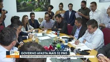 Depois de ouvir famílias, governador manda afastar PMs que atuaram em Paraisópolis - Defensoria Pública vai acompanhar as investigações das mortes dos 9 jovens durante baile funk, no dia 1º,