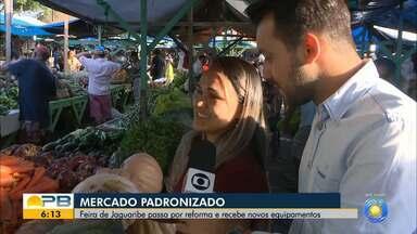 Feira de Jaguaribe passa por reforma e recebe novos equipamentos, em João Pessoa - Confira os detalhes com o repórter Ítalo Di Lucena.