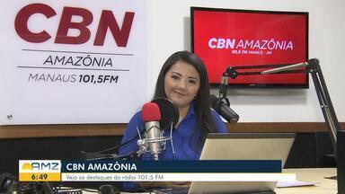Confira os destaques da CBN Amazônia desta quarta-feira (11) - Confira os destaques da CBN Amazônia desta quarta-feira (11).