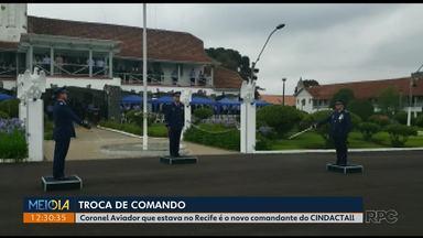 O Cindacta II está sob novo comando - Coronel Aviador que estava no Recife é o novo comandante do CINDACTAll
