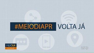 Telespectadores chamam o intervalo do Meio Dia Paraná - Participe você também! Envie seu vídeo através do (43) 99972-5178.