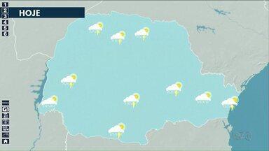 Quarta-feira (11) deve ser de chuva em todo estado - Apesar da chuva, temperatura segue alta na região Noroeste.