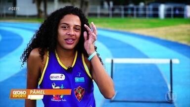 Destaque do atletismo, pernambucana vence prêmio Brasil Olímpico - Destaque do atletismo, pernambucana vence prêmio Brasil Olímpico