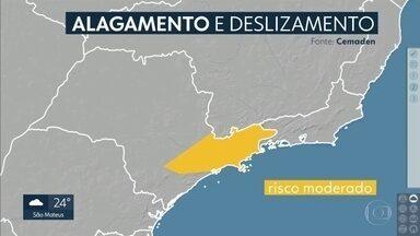 Grande São Paulo pode ter temporal pelo terceiro dia seguido - Temperatura volta a subir na quinta-feira, sexta-feira a chuva aumenta e sábado esfria... confira os detalhes