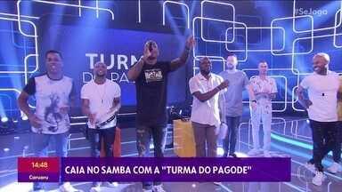 Turma do Pagode canta no 'Se Joga' - Caia no samba com o grupo!