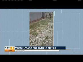 Você no MG: Confira os vídeos enviados pelos telespectadores - Morador do Vale do Jequitinhonha reclama de rua cheia de mato e montinhos de terra.