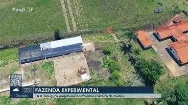 UFJF inaugura Fazenda Experimental em Ewbank da Câmara - Localizado às margens da Represa de Chapéu D'uvas, o espaço visa garantir água em quantidade e qualidade para Juiz de Fora e região.