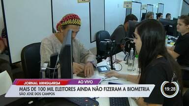 Mais de 100 mil não fizeram cadastro biométrico em São José - Prazo para o cadastro termina na próxima quinta-feira (19).