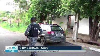 Polícia faz operação contra o crime organizado em Porto Nacional - Polícia faz operação contra o crime organizado em Porto Nacional