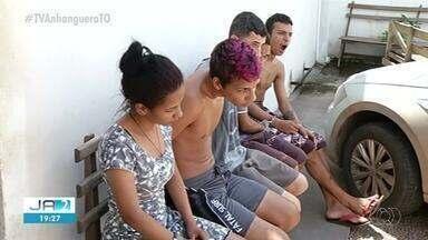 Cinco são presos suspeitos de tráfico no sul do Tocantins - Cinco são presos suspeitos de tráfico no sul do Tocantins