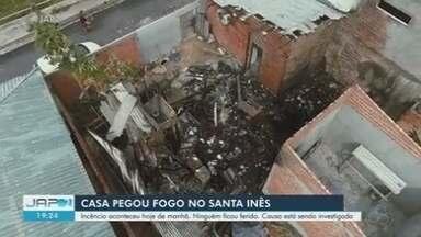 Incêndio atinge casa, depósito e empreendimento em Macapá - Incêndio atinge casa, depósito e empreendimento em Macapá