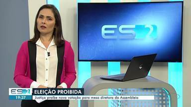 Justiça proíbe nova votação para mesa diretora da Assembleia Legislativa do ES - Uma liminar concedida pelo desembargador Robson Luiz Albanez, suspendeu, por enquanto, a emenda constitucional que permitia antecipar a eleição.