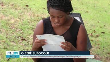 Após família ser acusada por vizinhos, laudo aponta que bebê morreu por asfixia no RJ - Caso ocorreu em São Pedro da Aldeia, na Região dos Lagos.