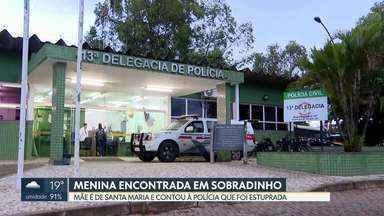 Polícia identifica mãe de recém-nascida encontrada em Sobradinho - Mulher contou à polícia que tem outros oito filhos e que foi estuprada. Criança foi entregue pelo próprio avô a uma vizinha, que ainda não sabia que, na verdade, a criança era neta dele.