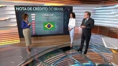Miriam Leitão: juros caíram dez pontos desde 2016 e BC não dá pistas para o futuro - A comentarista Miriam Leitão comenta os próximos passos do Banco Central. Standard and Poor's melhora expectativa para o Brasil.