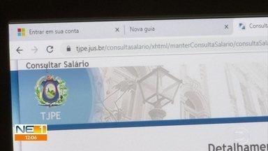 Magistrados do TJPE recebem pagamento de férias vencidas e acumuladas de até R$ 1,2 milhão - Ordem dos Advogados do Brasil informou que vai pedir verificação dos pagamentos ao Conselho Nacional de Justiça.