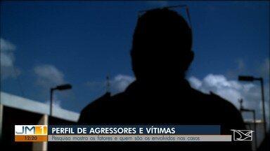 Estudo revela o perfil dos agressores de violência contra a mulher no Maranhão - Dados estão em pesquisa realizada pela 2ª Vara da Mulher em São Luís.