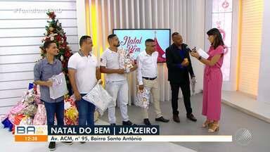 Natal do Bem: baianos participam da campanha de arrecadação de brinquedos - Os presentes serão doados para instituições de caridade da capital baiana.