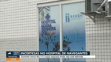 Hospital de Navegantes passa por problemas no contrato de licitação - Hospital de Navegantes passa por problemas no contrato de licitação
