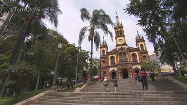 As novas cores da Igreja São José chamam atenção no centro de Belo Horizonte - O local retomou a imponência da época de sua fundação após sete anos de reformas.