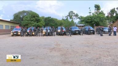 Polícia ouve depoimento de sobreviventes do ataque a índios em Jenipapo dos Vieiras - Quinta-feira (12) foi o primeiro dia de trabalho dos homens da Força Nacional de Segurança na região.