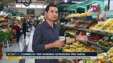 Mercado Municipal com bastante movimento para o Natal - Confira também que o comércio tem horário estendido pro Natal