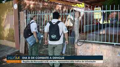 Centro de Controle de Zoonoses faz mobilização contra a dengue neste sábado em Foz - Região do Morumbi I e III, apresentou alto índice de infestação.
