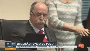 Deputado Romildo Titon é condenado pelo TJSC em ação relacionada à Operação Fundo do Poço - Deputado Romildo Titon é condenado pelo TJSC em ação relacionada à Operação Fundo do Poço