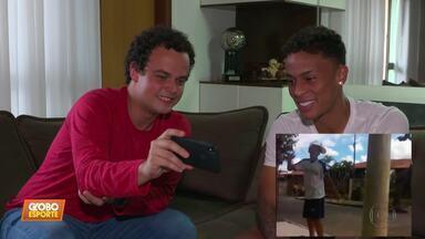 Ex-skatista Bruninho avalia temporada 2019 no Atlético-MG e está de olho em 2020 - Ex-skatista Bruninho avalia temporada 2019 no Atlético-MG e está de olho em 2020