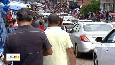 Mais de 2 milhões de pessoas devem passar pela Região da 44, em Goiânia - Polícia reforçou a segurança na região para as compras de final de ano.