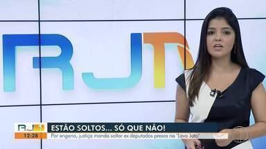TRF manda soltar, por engano, ex-deputados estaduais Paulo Melo e Edson Albertassi - Ordem para que os ex-deputados retornem a prisão já foi expedida.