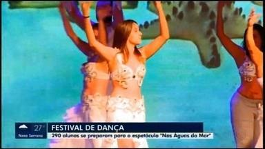 Divinópolis recebe a 18ª edição do Festival de dança da escola Maiher Menezes - 'Nas águas do mar' é o tema deste ano.