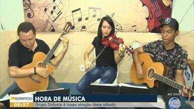 Grupo Sinfonia é a atração do Bom Dia Sábado - Grupo Sinfonia é a atração do Bom Dia Sábado