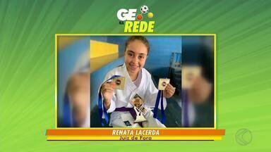 GE na Rede tem torcedor no Maraca e campeã de caratê - Internautas de Divinésia, Juiz de Fora, Alto Rio Doce e Bicas enviam participação para a TV Integração