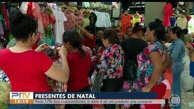 Natal serve como pretexto para compras para 17% dos consumidores - Natal serve como pretexto para compras para 17% dos consumidores