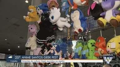 Anime Santos Geek Fest reúne amantes da cultura geek - Evento que começa neste sábado (14) promete diversas atrações até domingo (15).