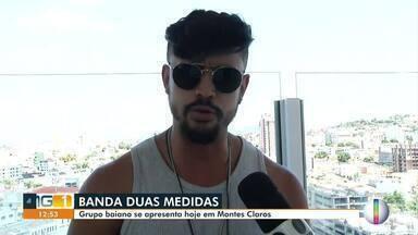"""Banda Duas Medidas se apresenta em Montes Claros - Grupo baiano é atração do evento """"Pôr do sol""""."""