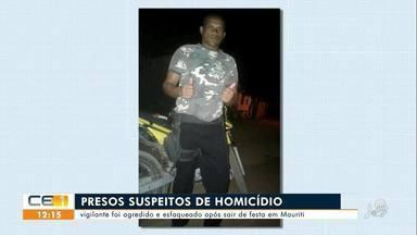 Vigilante é esfaqueado em Mauriti, e suspeitos são presos - Saiba mais no g1.com.br/ce