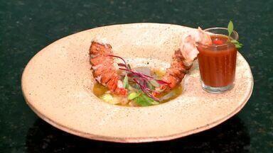 Aprenda a preparar uma receita de lagostim com picles de maxixe - Aprenda a preparar uma receita de lagostim com picles de maxixe