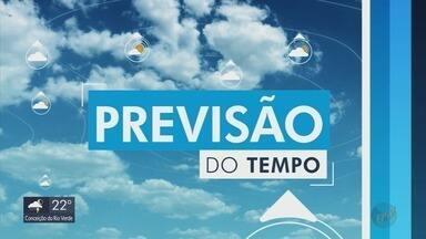 Confira a previsão do tempo para domingo no Sul de Minas - Veja se a chuva que causou prejuízos em cidades da região continua.