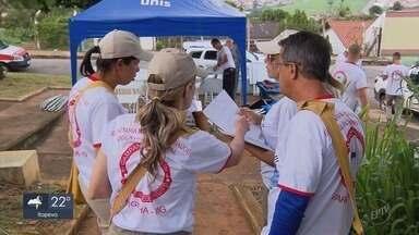 Campanha de combate ao Aedes aegypti retira lixo em cidades do Sul de Minas - Mutirão ocorreu pelo quinto ano seguido.
