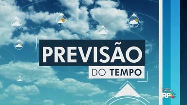 Veja como fica a previsão do tempo para Ponta Grossa e região neste domingo (15) - Tempo deve ficar instável, com possibilidade de chuva nos Campos Gerais.