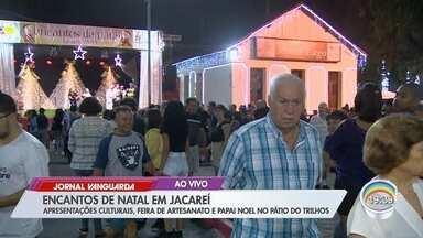 Jacareí tem programação especial de Natal - Atividades acontecem no Pátio dos Trilhos.