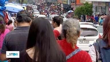 Mais de 2 milhões de pessoas devem passar pela Região da 44, em Goiânia - Trânsito de carros e fluxo de pessoas fica intenso durante o fim de ano.