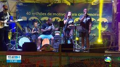 The Baggios e Os Faranis participam de celebração dos 40 anos do Tamar - The Baggios e Os Faranis participam de celebração dos 40 anos do Tamar.