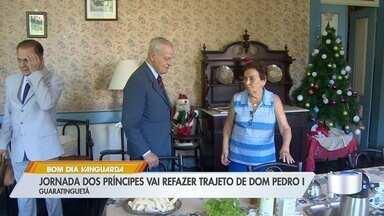 Jornada dos Príncipes vai refazer trajeto de Dom Pedro I - Príncipe da família imperial brasileira lançou jornada neste domingo em Guaratinguetá.
