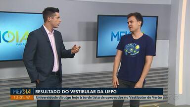 UEPG divulga resultado do Vestibular de Verão nesta terça-feira (17) - Lista de aprovados deve sair às 15h, no site da universidade. Matrículas devem ser feitas em janeiro, pela internet.