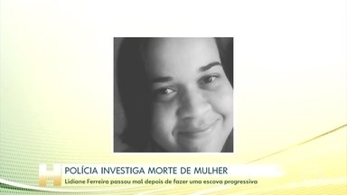 Polícia investiga morte de mulher após procedimento estético - Mulher de 35 anos ficou internada por cinco dias e teve uma parada cardiorrespiratória após fazer uma escova progressiva em um cabeleireiro, no interior de São Paulo.