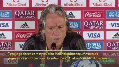O treino do Flamengo antes de enfrentar o Al-Hilal pela semifinal do Mundial de Clubes - O treino do Flamengo antes de enfrentar o Al-Hilal pela semifinal do Mundial de Clubes